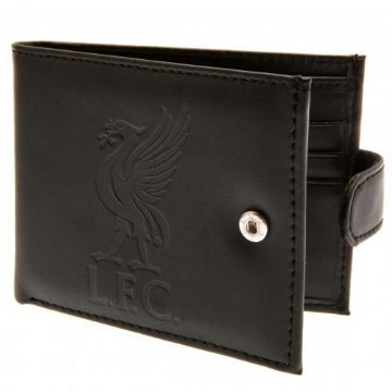 Liverpool FC Leather Wallet with Anti-Fraud Protection